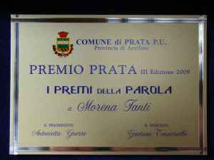 targa premio Prata